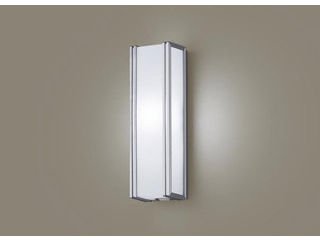 Panasonic/パナソニック LGWC81421LE1 LEDポーチライト シルバーメタリック【昼白色】【明るさセンサ付】【壁直付型】