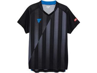 VICTAS(ヴィクタス) VICTAS V‐NGS052 ユニセックス ゲームシャツ/L/ブラック