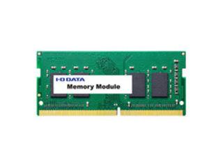 I・O DATA/アイ・オー・データ ノートPC向け PC4-2400(DDR4-2400)対応ノートPC用メモリー 4GB SDZ2400-4G