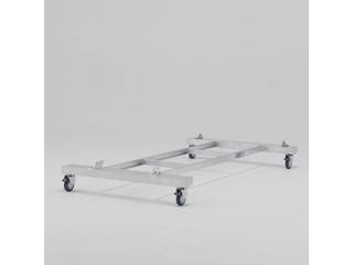 ALINCO/アルインコ 作業台CSD-F用4輪キャスター付きベース CSDB17