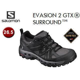 SALOMON/サロモン L39366700 FOOTWEAR EVASION 2 GTX SURROUND 【26.5】 (MAGNET/BLACK/QUIET SHADE)