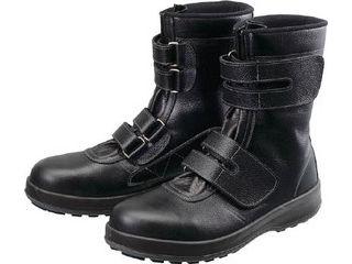 Simon/シモン 安全靴 長編上靴 マジック WS38黒 24.5cm WS38-24.5