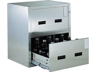 TRUSCO/トラスコ中山 【代引不可】耐震薬品庫 705X600XH800 2段引出型 SYW-2