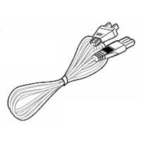 SHARP/シャープ ブルーレイディスクレコーダー用 電源コード [0045000088]
