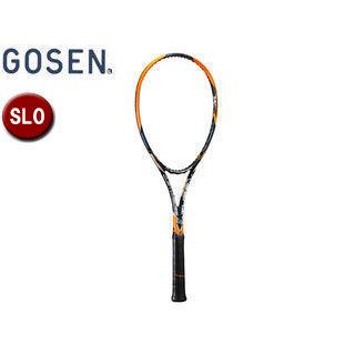 GOSEN/ゴーセン SRCETX ソフトテニス ラケット CUSTOMEDGE TYPE-X (フレームのみ) 【SL0】 (サンセットオレンジ)
