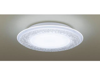 Panasonic/パナソニック LGBZ1197 LEDシーリングライト 1枚パネルタイプ 透明・模様入【調光調色】【~8畳】【天井直付型】