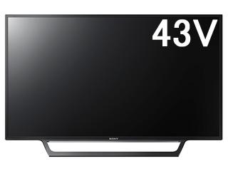 SONY/ソニー KJ-43W730E BRAVIA/ブラビア フルハイビジョン43V型液晶テレビ
