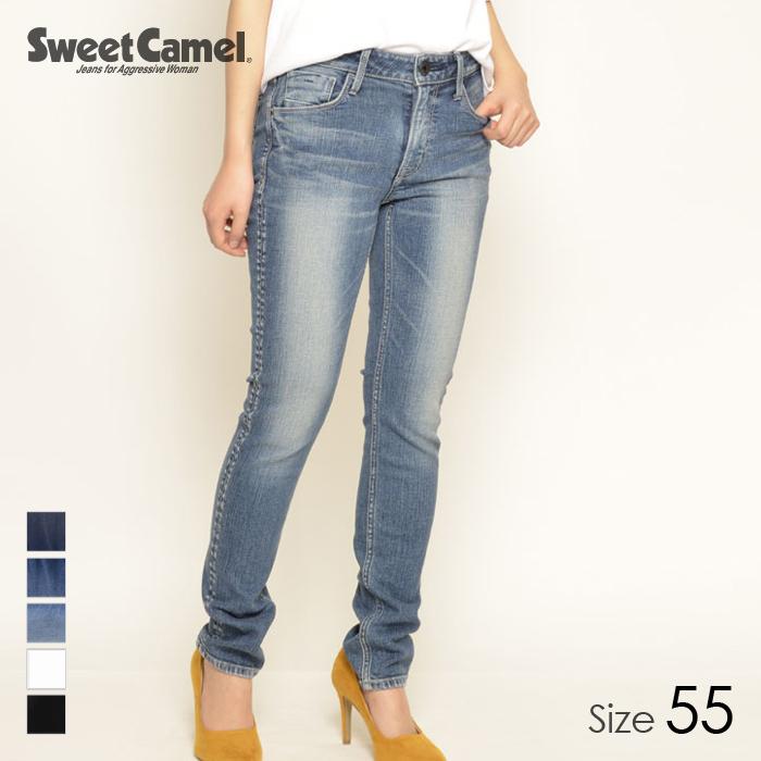 Sweet Camel/スウィートキャメル レディース ハイパワーストレッチスキニー パンツ (S6 中色USED/サイズ55) SC5371