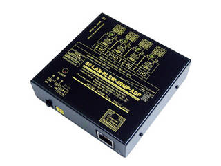 システムサコム工業 LAN(Ethernet)リレースイッチユニット[独立4ch](ACアダプタ仕様) SS-LAN-RLSW-4RMP-ADP