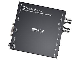 デジタル アナログ映像信号を最大1080p@60 10.2Gbps タイムセール 3G-SDIフォーマット信号へスケーリング変換 マルチフォーマット入力対応SDIスケーリングコンバーター SCSD01 ADTECHNO エーディテクノ 超激安