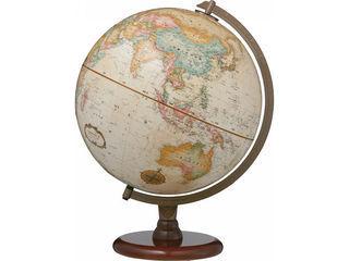 Replogle/リプルーグル・グローブス・ジャパン 地球儀 リノックス型 日本語版/ブラウン/31573