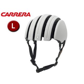【nightsale】 CARRERA/カレラ FOLDABLE PREMIUM シティバイクヘルメット 【Lサイズ(M/L)】 (Matte White)