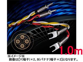 6N 4種新ハイブリッド シールド付4芯特太バイワイヤー対応スピーカーケーブル 受注生産の為 キャンセル不可 Zonotone 通信販売 Yx2 7700α 6NSP-Granster 買収 ゾノトーン 1.0mx2 Yx4