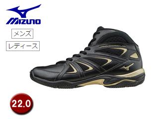 mizuno/ミズノ K1GF1571-09 ウエーブダイバース LG3 フィットネスシューズ 【22.0】 (ブラック)