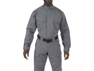 5.11 Tactical/ファイブイレブンタクティカル ストライク TDU LSシャツ ストーム XSサイズ 72416-092-XS