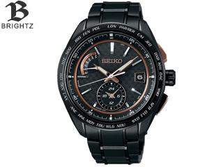 SEIKO/セイコー SAGA263【BRIGHTZ/ブライツ】【MENS/メンズ】【Flight Expert Dual-Time】【seiko1806】ブラック 【スーパークリア コーティング】