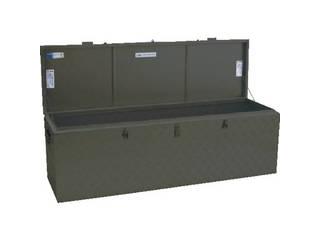 ALINCO/アルインコ 万能アルミ製BOX ODグリーン色 BXA150GR