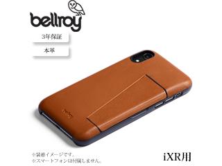 Bellroy/ベルロイ 本革 iPhone ケース 3カード【iXR 用 キャラメル】 BRPTAA-CAR-108 iphoneケース スマホケース 本革 レザー オシャレ スリム 携帯
