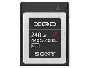 SONY/ソニー QD-G240F(240GB) XQDメモリーカード【Gシリーズ】