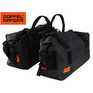 Doppelganger/ドッペルギャンガー DBT393-BK ターポリンサイドバッグ 【約40L】 (ブラック)