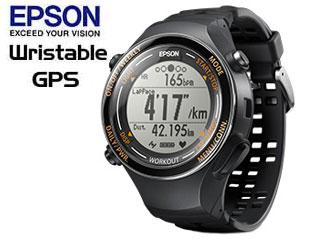 EPSON/エプソン ●SF-850PJ Wristable ランニングギア (ジェットブラック)【GPS・脈拍計測・活動量計搭載】