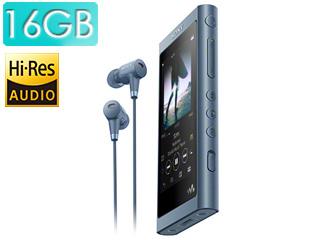 SONY/ソニー NW-A55HN-L (ムーンリットブルー) 16GB ウォークマンAシリーズ(メモリータイプ) ヘッドホン同梱