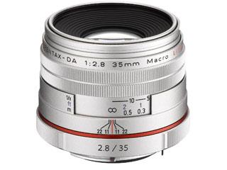 超お得なセットも有ります! PENTAX/ペンタックス HD PENTAX-DA 35mmF2.8 Macro Limited(シルバー) マクロレンズ pentaxlenscb2018