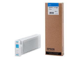 EPSON/エプソン Sure Color用 インクカートリッジ/700ml(シアン) SC3C70
