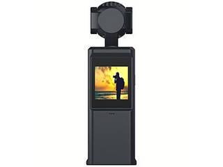 【納期5月上旬以降】 HACRAY HACRAY 3軸スタビライザー搭載4Kカメラ POMi Pocket Gimbal HR18474