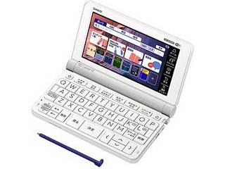カシオ計算機 電子辞書 EX-word XD-SX9800(200コンテンツ/英語モデル/ホワイト) XD-SX9800-WE
