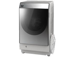 【標準配送設置無料!】 SHARP/シャープ 【まごころ配送】ES-W111-SL(シルバー系・左開き)  ドラム式洗濯乾燥機 【お届けまでの目安:16日間】