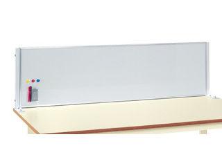 SAKAE/サカエ 【代引不可】作業台用ホワイトボード KWP-9WP