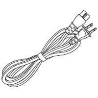 SHARP/シャープ ブルーレイディスクレコーダー用 電源コード [0045000113]