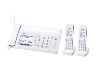 【nightsale】 【台数限定!ご購入はお早めに!】 Panasonic/パナソニック 【オススメ】KX-PZ210DW-W デジタルコードレス普通紙ファクス(子機2台付き)ホワイト