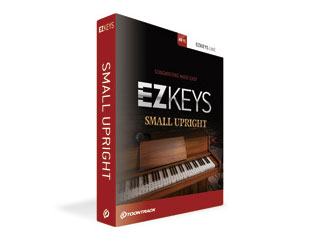 TOONTRACK/トゥーントラック EZ KEYS - SMALL UPRIGHT PIANO / BOX (イージー・キー・スモール・アップライトピアノ) ピアノ音源 【TT323】
