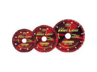 LOBTEX/ロブテックス LOBSTER/エビ印 ダイヤモンドホイール ウェブレーザー(乾式) 260mm穴径25.4mm WL255254
