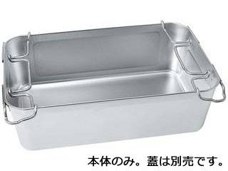 沖縄県及び離島には配送できません 代引不可 18-8 おトク H185型 ストッパー付き運搬バット 日本