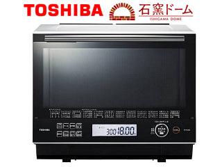 TOSHIBA/東芝 ER-PD3000(W) 過熱水蒸気オーブンレンジ 石窯ドーム (グランホワイト) 【30L】