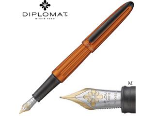 DIPLOMAT/ディプロマット 万年筆■アエロ【サンセットオレンジ】■14Kペン先 【M/中字】(1957232 )