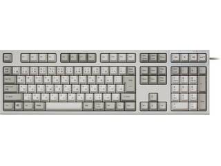 Topre 東プレ REALFORCE SA R2 日本語 フルキーボード(112配列+APC機能+静音):アイボリー R2SA-JP3-IV