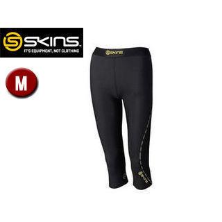 SKINS/スキンズ DK9906008-BKYL DNAMIC ウィメンズ 3/4タイツ 【M】 (ブラック×イエロー)