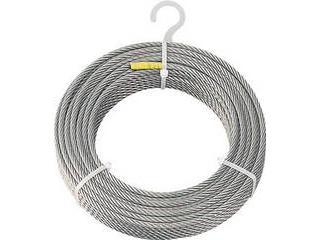 TRUSCO/トラスコ中山 ステンレスワイヤロープ Φ8.0mmX50m CWS-8S50