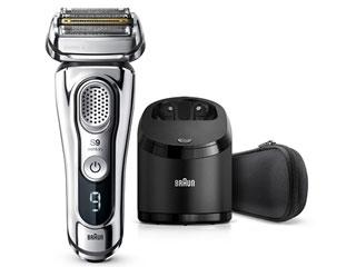 Braun/ブラウン 9394cc メンズ電気シェーバー 洗浄器付モデル お風呂剃り対応 シェーバーケース付(クロム)