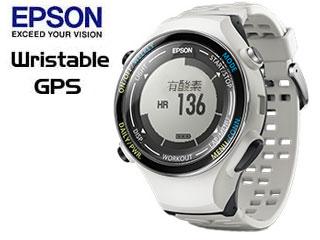 EPSON/エプソン ●SF-850PC Wristable ランニングギア (クールホワイト)【GPS・脈拍計測・活動量計搭載】