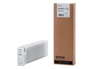 EPSON/エプソン Sure Color用 インクカートリッジ/600ml(ホワイト) SC3WW60