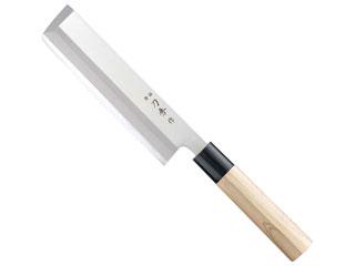 刃秀作 モリブデンバナジウム鋼 角型薄刃 贈り物 倉庫 FC-376 19.5cm 左用