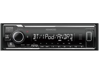 KENWOOD/ケンウッド U340BMS USB/iPod/Bluetoothレシーバー MP3/WMA/AAC/WAV/FLAC対応