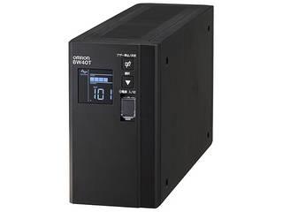 OMRON/オムロン 無停電電源装置 BW40T本体+無償保証4年分 BW40TG4