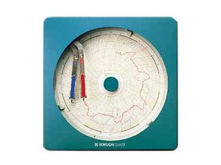 国際チャート 温湿度記録計 温湿きろく君/KC10-WD 1日用