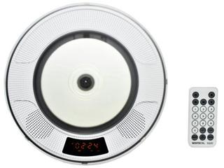 WINTECH/廣華物産 WCD-B1 バッテリー内蔵MP3対応壁掛けCDプレーヤー